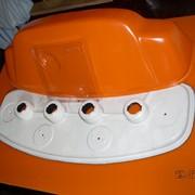 Литье пластика под давлением на тпа 125 куб шприц пресс усилие 63т. вакуумная формовка стол 600*400 и 500*800. фото
