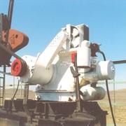 Двигатель внутреннего сгорания, для привода станков-качалок нефтянных скважинных насосов, работающий на попутном газе. фото
