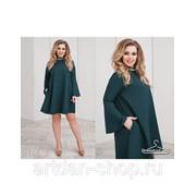 Свободное женское платье 9464 фото