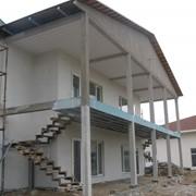 Дома каркасные из ЛСТК фото