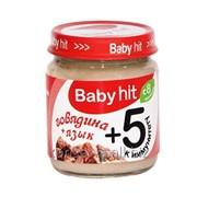 Детское питание Baby hit Говядина + язык Б№1 фото