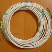 Кабельный электронагреватель для разогрева трубопроводов, теплообменников, емкостей и другого технологического оборудования фото