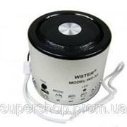 Мини портативная MP3 колонка от USB FM WSA8 Silver par002394opt фото
