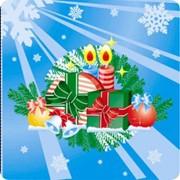 Салфетки 1-слойные, С РИСУНКОМ (Новогодние) 24*24 фото