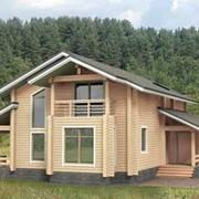 Проекты домов из бруса фото