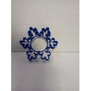 Форма для печенья «Снежинка», 10,5×10,5 см, цвет МИКС фото