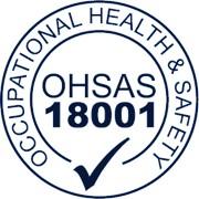 Сертификат OHSAS 18001 фото