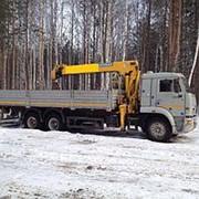 Услуги крана-манипулятора в Москве фото