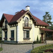 Проект дома до 120 м² фото