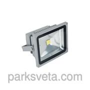 Прожектор LED 10w 6500 ip44 1 led серый+датчик LMPS10 фото