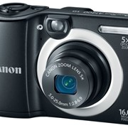 Цифрова фотокамера Canon PowerShot A1400 Black фото