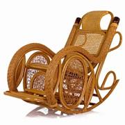 Кресло-качалка из ротанга Twist фото