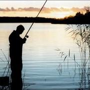 Рыбалка на озере фото