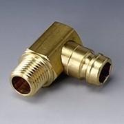 Штекер темперирующей муфты без клапана, угол 90° - TKS OV HBK 90 фото