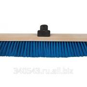 Щетка для пола деревянная FIT Метро 68037 400 мм 5-рядная фото