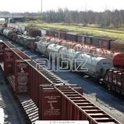 Доставка песка железнодорожным транспортом фото