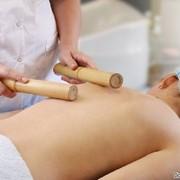 Бамбуковый тонизирующий массаж фото