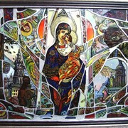 Картина на стекле Великодні мотиви фото