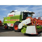 Комбайн зерноуборочный Claas Mega 218 фото