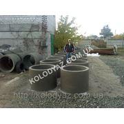 Кольца бетонные 80*90 фото