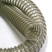 Шланг гибкий спиральный для абразивной пыли, опилок Лигнум СЕ ПУ д. 38-150 мм фото