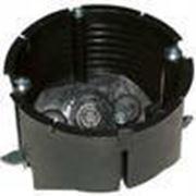 Коробка-подрозетник 60 в гипсокартон стыковочная монтажная KMGS-60 фото