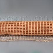 Сетка рыбацкая персиковая натур. 50 см/5 м 3664 фото