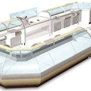 Витрина холодильная Айсберг модель ELLIPSE фото