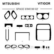 Mitsubishi SPACE STAR 99' - 02' Карбон, карбон+, алюминий фото