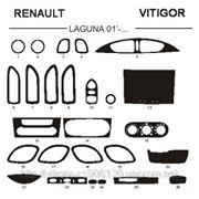 Renault LAGUNA 01' - 05' Карбон, карбон+, алюминий фото