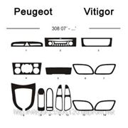 Peugeot 308 07' - ... Карбон, карбон+, алюминий фото