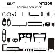 Seat TOLEDO/LEON 99'-04' Карбон, карбон+, алюминий фото