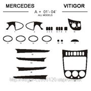 Mercedes A+ 01' - 04' ALL MODELS Карбон, карбон+, алюминий фото