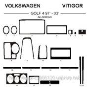 Volkswagen GOLF 4 97'-03' ALL MODELS Карбон, карбон+, алюминий фото