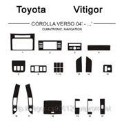 Totota COROLLA VERSO 04' - ... CLIMATRONIC, NAVIGATION Карбон, карбон+, алюминий фото