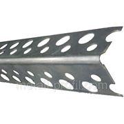 Угол алюминевый перфорированный 90гр 2,5 м.п. фото