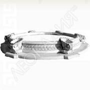 Бассейн фонтана (с вазами большой) Арт.№032 фото