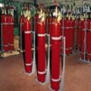 Батарея газового пожаротушенитя МГП 1-80 с ПЭ и УКУМ фото