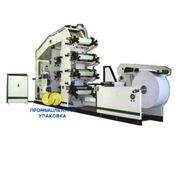 Автомат для изготовления салфеток с печатью в 2 – 4 -6 краски серии PU-EDW_NF фото