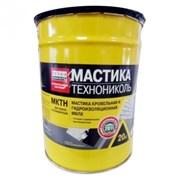 Мастика МКТН МБПХ (битумно-полимерная), ведро 20кг фото