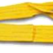 Строп текстильный ленточный петлевой/кольцевой 2м, 90мм, 4 т, желтая фото