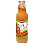 Сок, нектар морковный натуральный в стеклянной бутылке фото