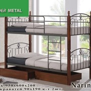Кровати двухъярусные Narin фото