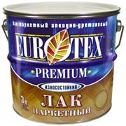 Лак паркетный Eurotex Premium фото