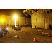 Установка аварийная осветительная Световая Башня и Световой Шар для ГАИ фото