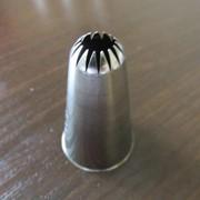 Насадка №195 Цветок, h-40 мм (средн), диам. 13 мм, 14 лепестков Атеко фото