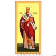 Икона свт. Николай Чудотворец Артикул: 001002ид14004 фото