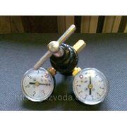Редуктор углекислотный УР-6-6 с манометрами фото