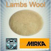 Полировальный круг овчина, Mirka Lambs Wool 180мм фото