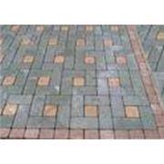 Плитка тротуарная «разборный квадрат» фото